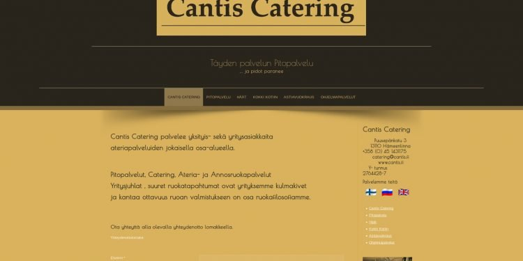 Cantis Catering