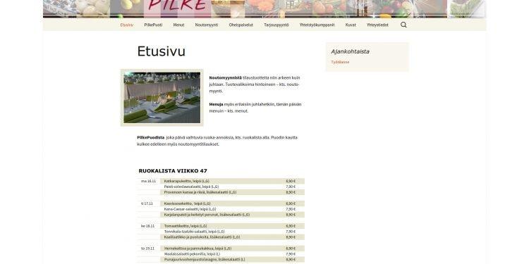 Pitopalvelu Pilke Ky